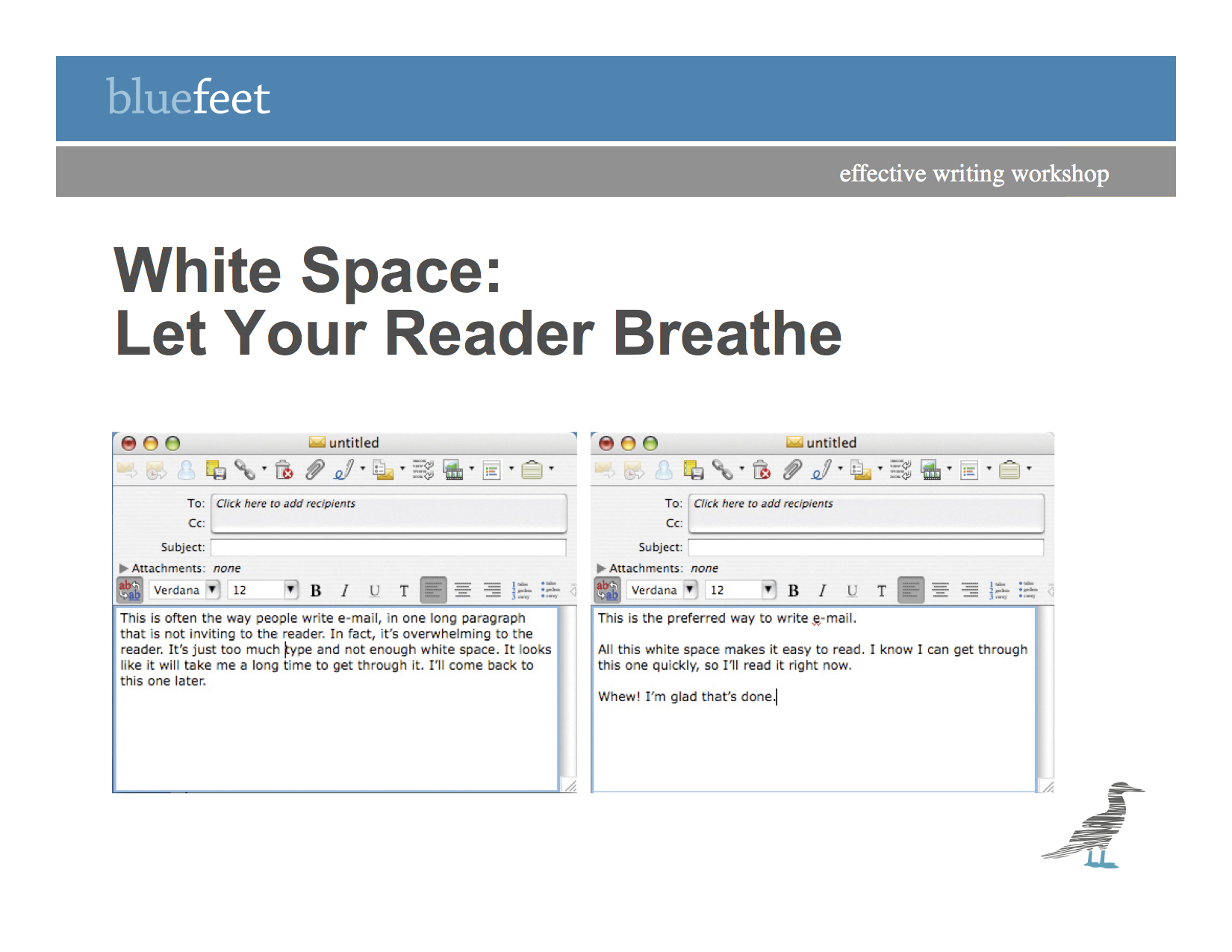 White Space bluefeet blog post by Lilli Cloud